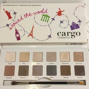 "CARGO COSMETICS ""AROUND THE WORLD"" SHADOW PALETTE"